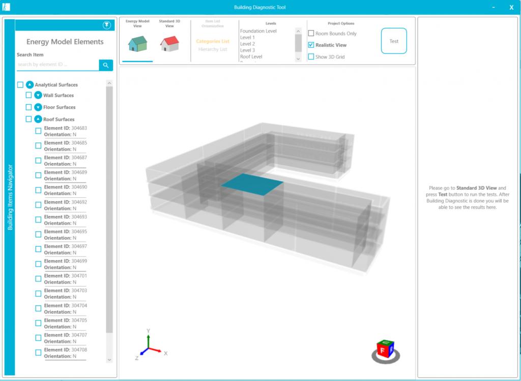 Model Diagnostic tool