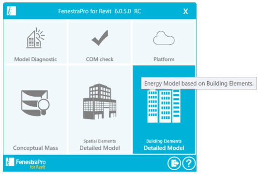 FenestraPro Building Elements