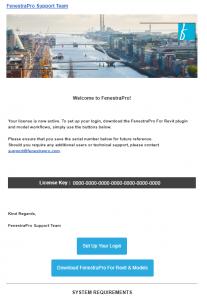 FenestraPro Sign Up