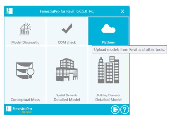 Access FenestraPro Platform